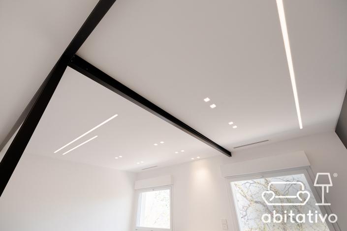 illuminazione soffitto open space