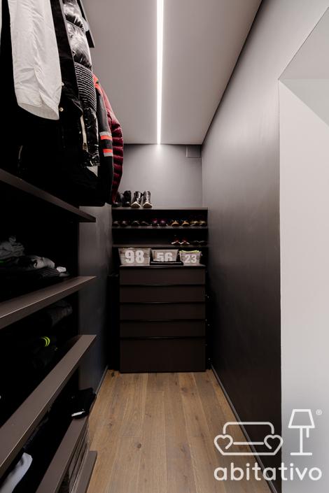 illuminazione cabina armadio