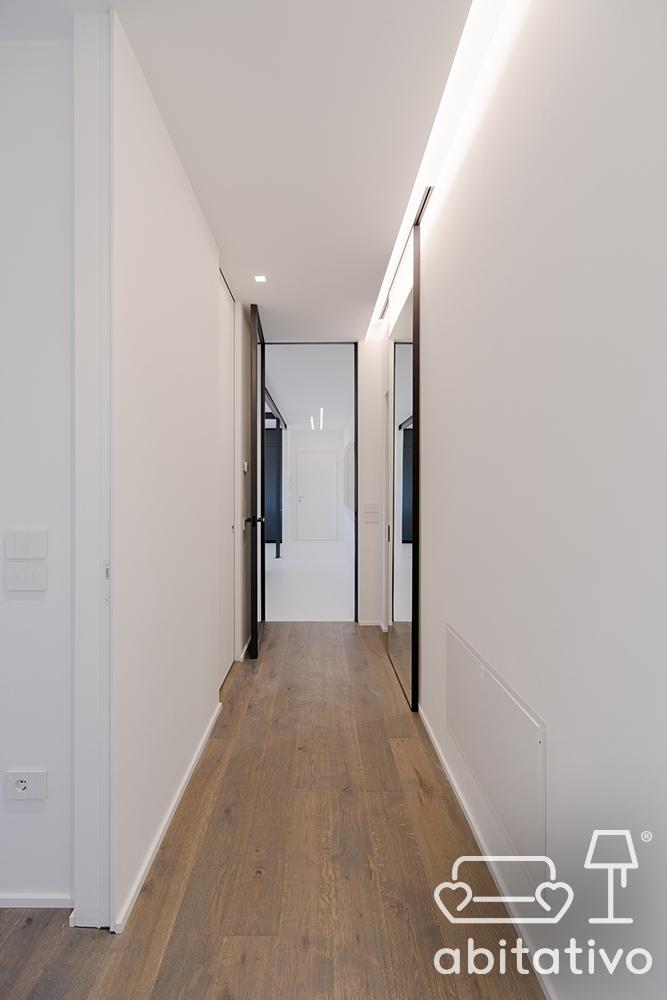 illuminazione controsoffitto corridoio