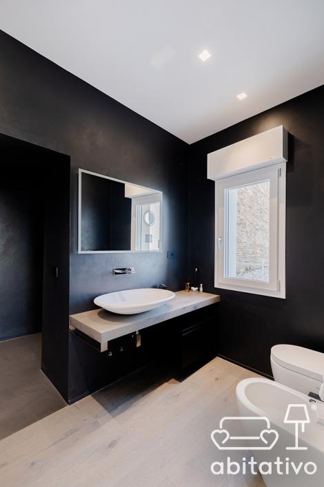 arredo design bagno nero