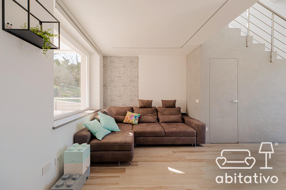 progetto soggiorno moderno