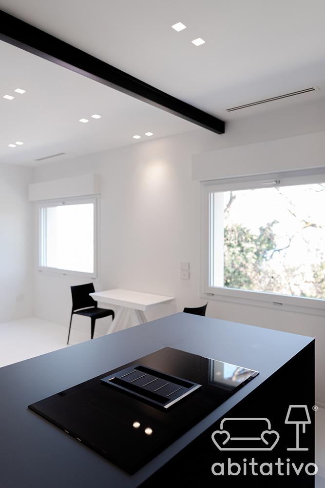 arredo open space stile minimale