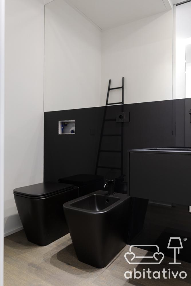 sanitari neri bagno