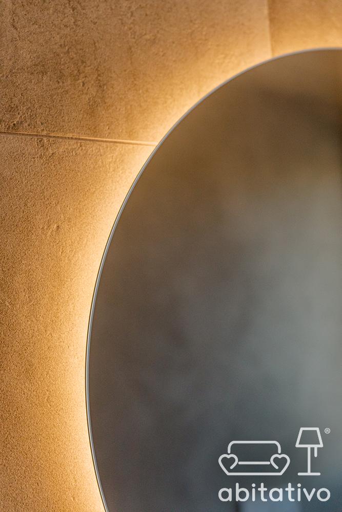illuminazione bagno moderno