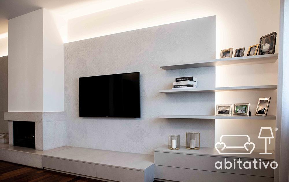 parete televisione moderna