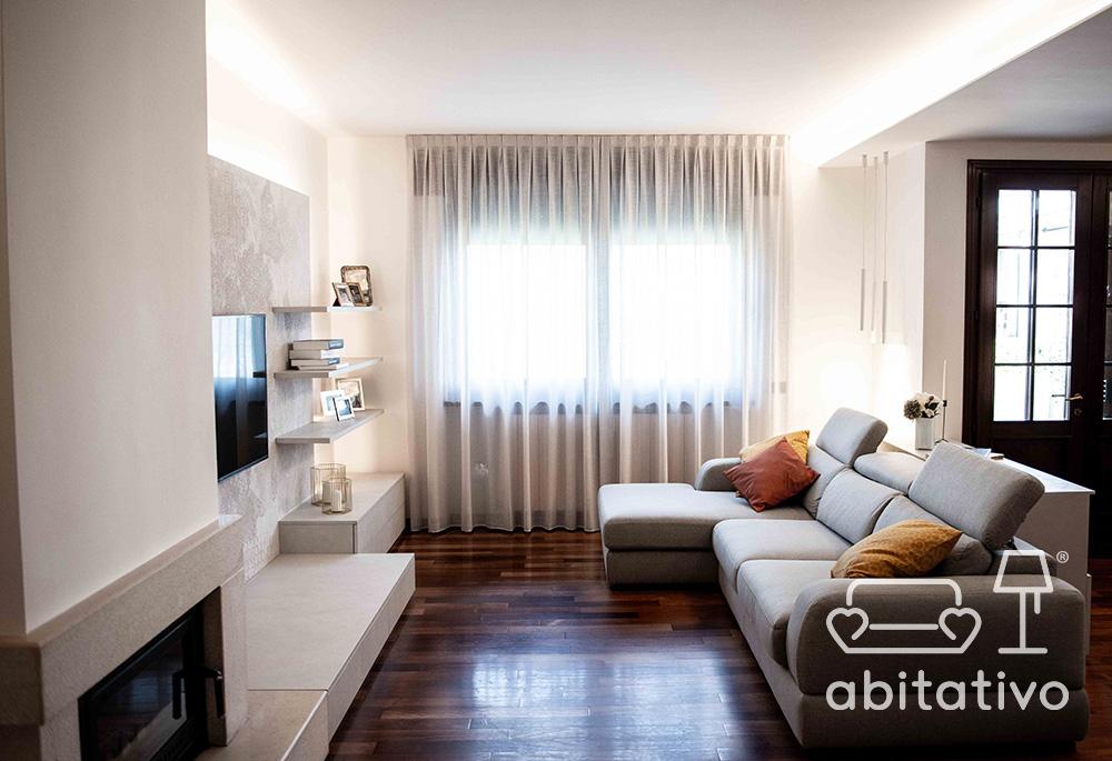 restyling soggiorno accogliente