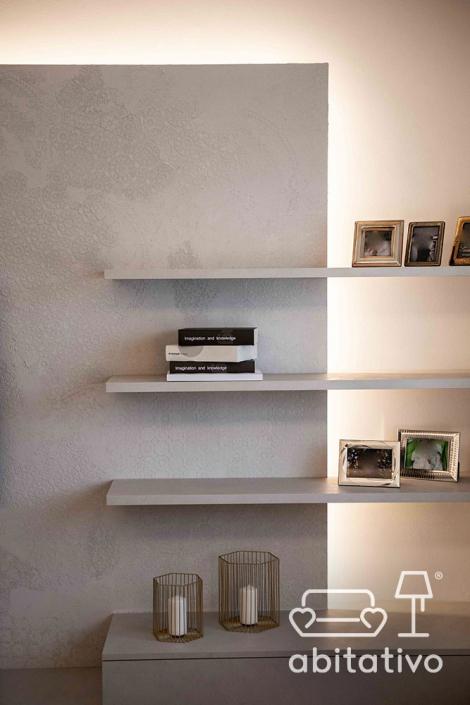 mensole moderne soggiorno