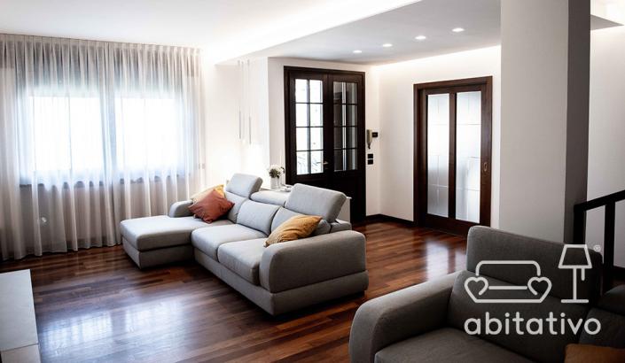 ristrutturazione soggiorno moderno