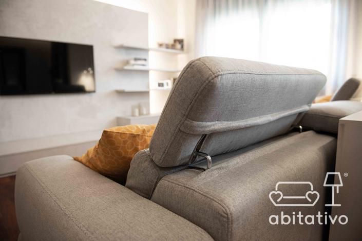 divano moderno zona giorno