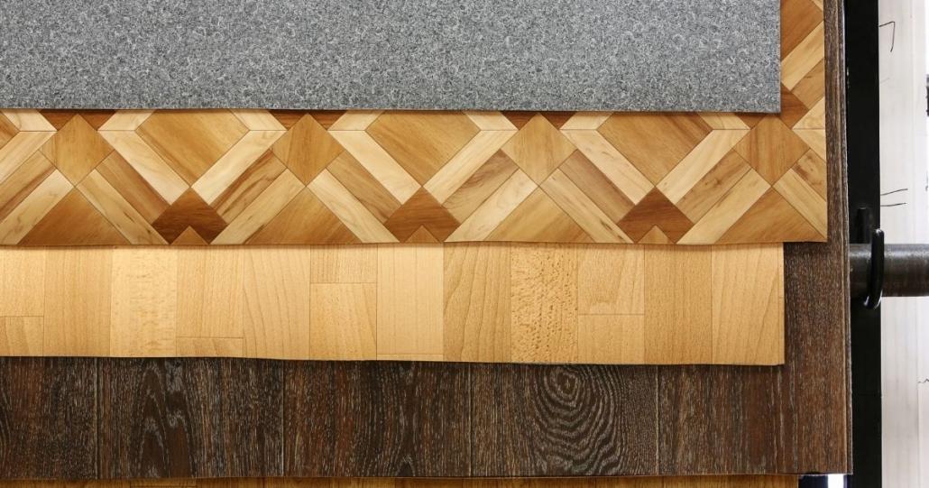 diversi tipi di pavimento in linoleum