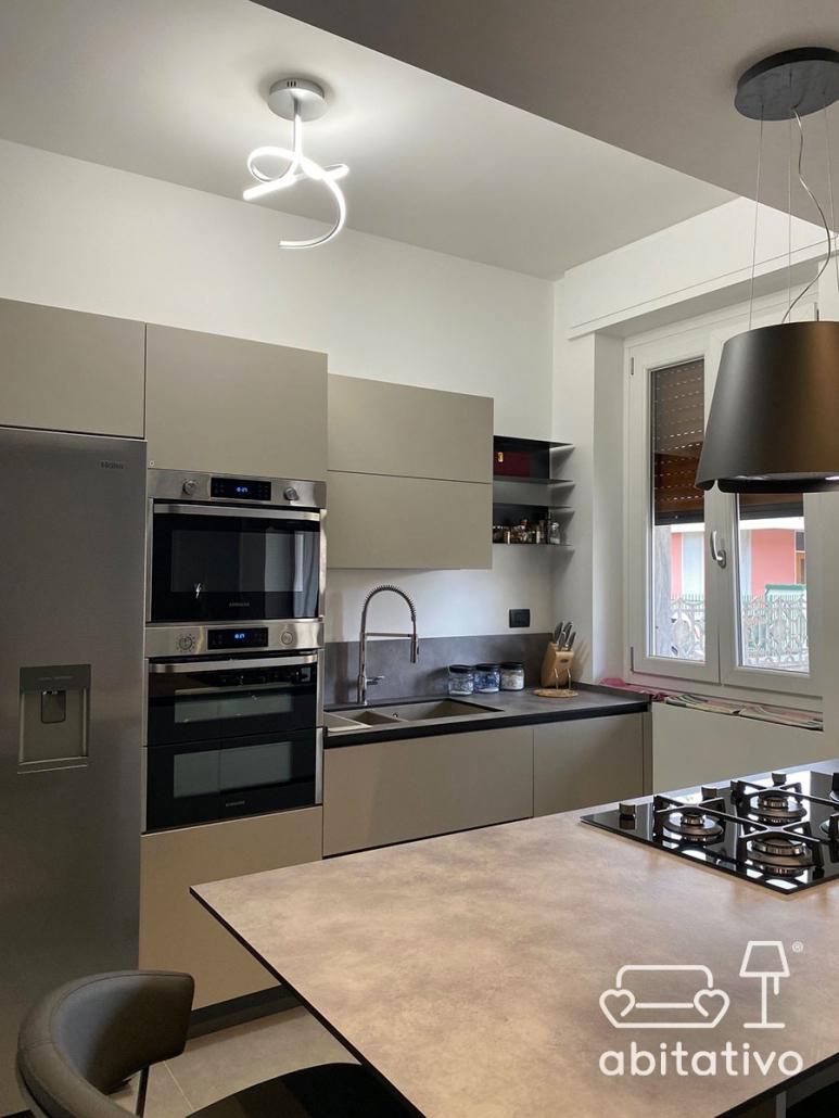 progettare cucina moderna su misura
