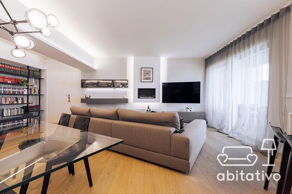 progetto interni appartamento moderno