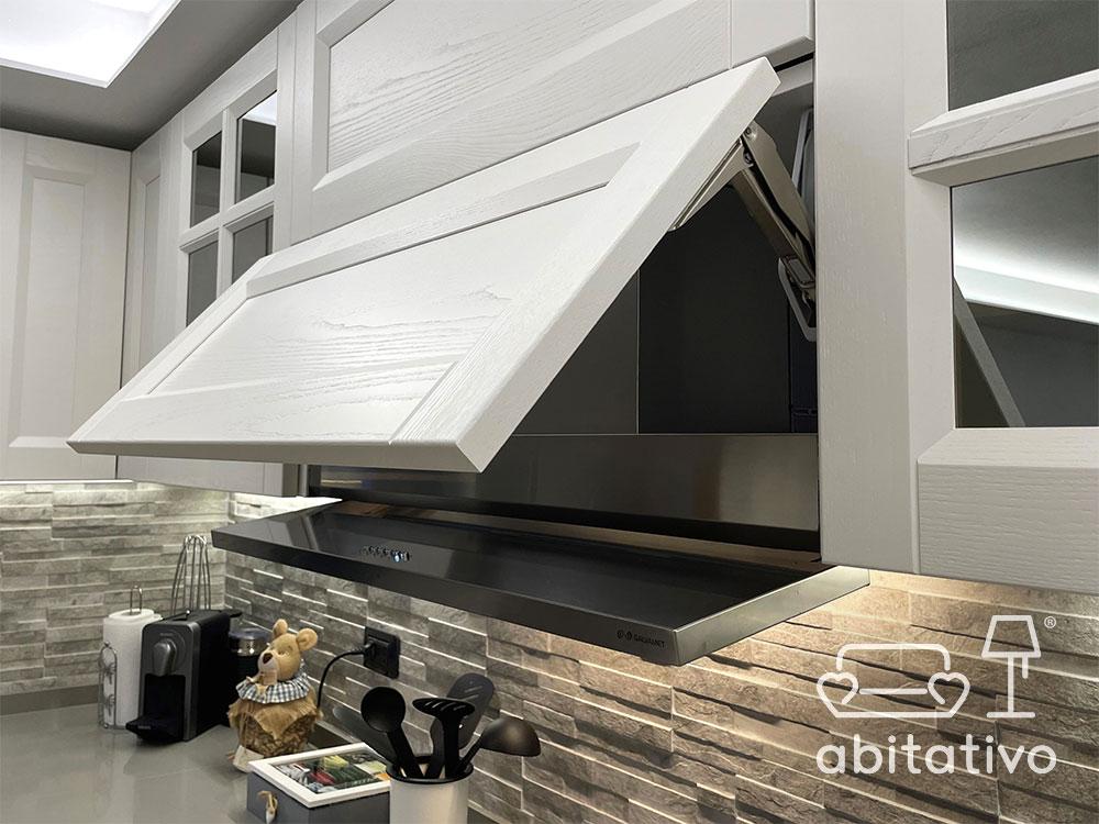 progetto pensili cucina moderna