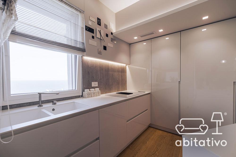 mobile cucina laccato bianco
