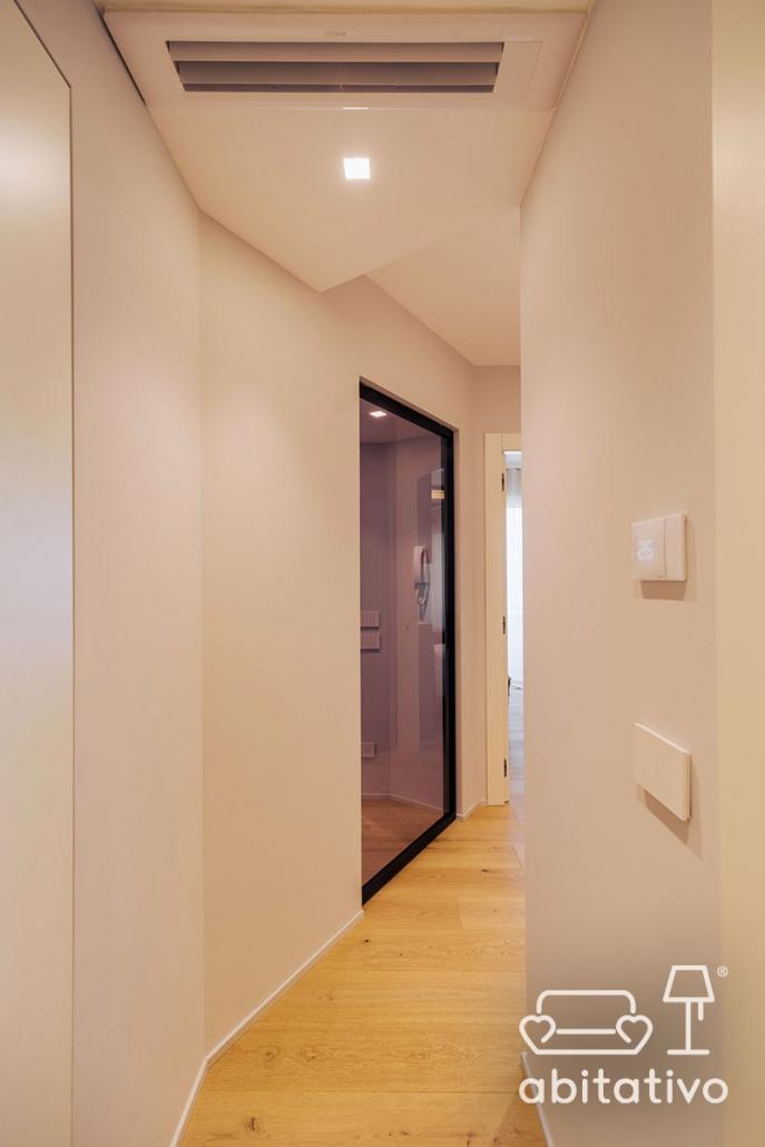 soluzione corridoio moderno