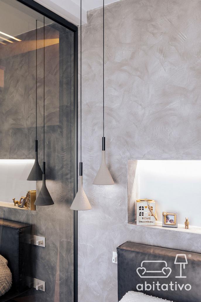 lampade a sospensione cemento