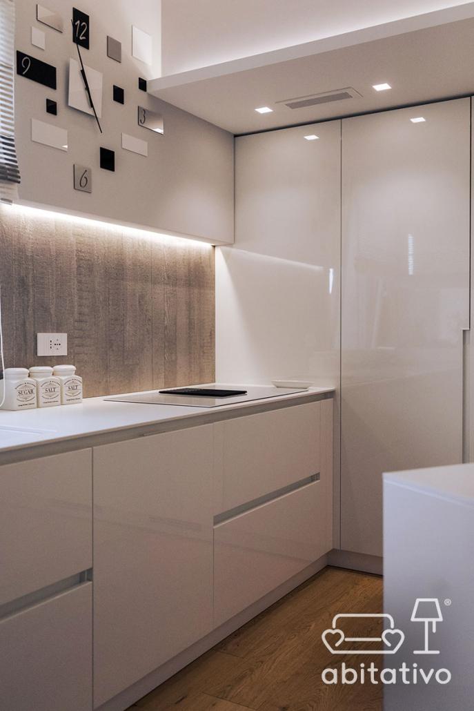 mobili cucina laccata bianca