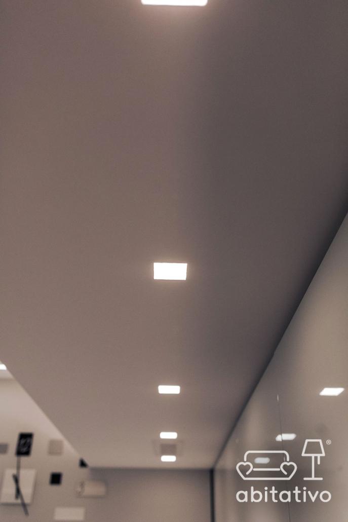 led incasso soffitto cartongesso