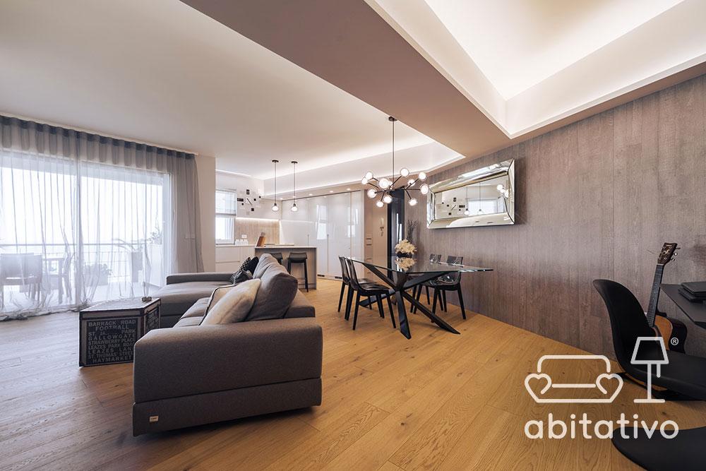 interior design open space abitativo