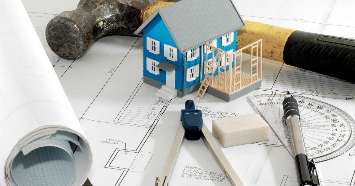 progetto di ristrutturazione di una casa